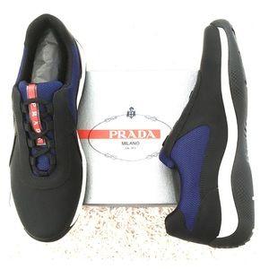 NWB!  PRADA Authentic Unisex Slip on Sneakers